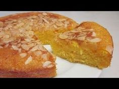 Receta Bizcocho húmedo de naranja - Recetas de cocina, paso a paso, tutorial - YouTube