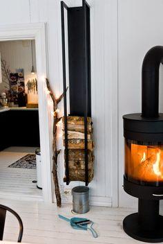 My Style My House - Dekorasyon ve Yaşam Blogu: Kuzine Soba ile 5 Farklı Ev Dekorasyonu