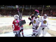 Local youth players competed in the Mini Hawks 1-on-1 Tournament for the chance to represent the Blackhawks at the 2017 All-Star Game in L.A.