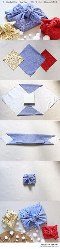 Original gift wrapping DIY // Asian style wrapping DIY // DIY emballage cadeau original // DIY emballage asiatique // Blog mode et DIY Artlex