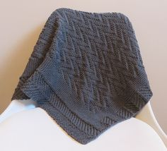 Ravelry: Charcoal baby blanket pattern by Alice Madehere Baby Blanket Crochet, Couture, Baby Knitting, Knitted Hats, Charcoal, Winter Hats, Pullover, Grey, Pattern
