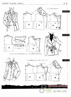 Jacket patterns