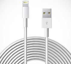 10 ft. Cable For iPad - $30 / Charge and synchronize your device simultaneously with this lightning-to-USB cable! http://thegadgetflow.com/portfolio/10-ft-cable-for-ipad-iphone-30/