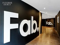 Absolutely Fab: Fab.com Headquarters | Signage at the entry. #office