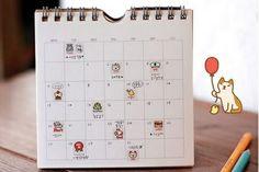 Sweet Sunday - Korean Cute Cat Deco Sticker Set - Cute Korean Stationery
