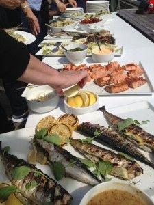 Grilltips og oppskrifter fra MATmeg.no . #grill #sjømat #middag