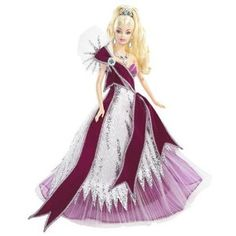 Barbie Collector Holiday 2005 Doll Designed by Bob Mackie (existe en version émeraude)