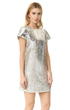 Rebecca Minkoff sequin dress for NYE