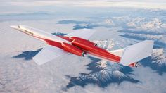 Concept - Aerion AS2 Supersonic Jet <-- Looks like a combination between the Concorde and the Lockheed F-104 Starfighter