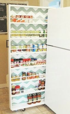 1000 images about voorraadkast on pinterest pantry kitchen pantries and organisation - Organiseren ruimte voor een extra ...