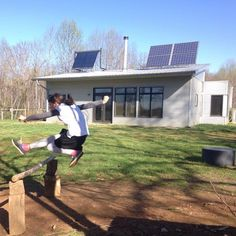 Net Zero Passive Solar Prefab House Is Spring Busy And Thinking On Water