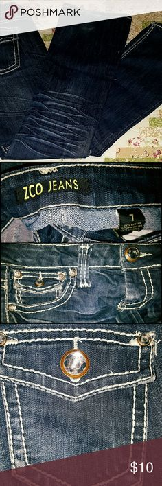 ZCO JEANS - SIZE 7! Gently loved! ZCO Jeans Boot Cut