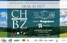 Se posterga www.chicureobazar.cl  NUEVA FECHA: 18 AL 21 DE OCT.