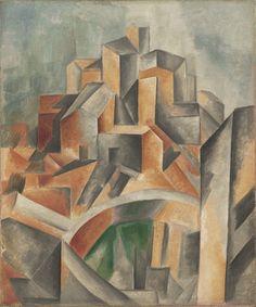 Pablo Picasso. The Reservoir, Horta de Ebro. Horta de San Joan, summer 1909