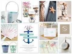 Nautical & Beach Wedding Planning, Theme Ideas, Decor & Supplies