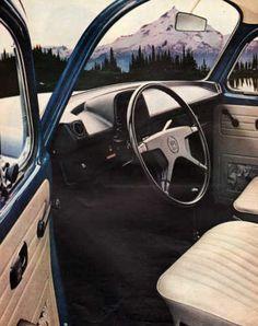 Vintage 1973 Volkswagen Super Beetle print ad The Bug by Vividiom