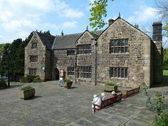 Manor House Museum  in Ilkley, Yorkshire    The Manor House is one of the oldest buildings in Ilkley and stands in  the Roman Fort of Olicana, which was abandoned in the late 4th/5th  century AD. Although the fort fell into ruins it occupied an important  site that also became the focus of Medieval Ilkley and it is to this  period of history that the earliest parts of the Manor House have been  dated.