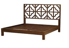 Moroccan inspired bedroom collection hand-constructed in mango wood, designed to create a lush retreat in any bedroom. $950 King