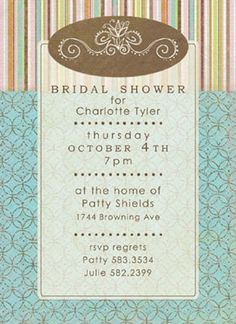 Ruffled® | Freebie Fridays: Bridal Shower Invitation Template