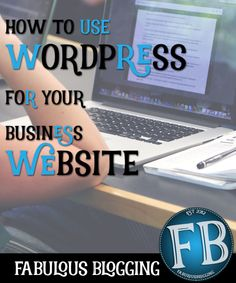 wordpressDespite WordPress's popularity, many people still don't understand that you can use WordPress to create your website, whether you want a blog or not!