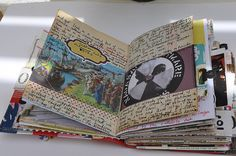 This reminds me of 'Elizabethtown.' i have some journals like this!