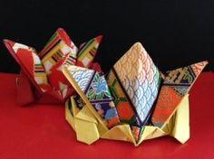 簡単 折り紙 かぶと 5月 ② origami kabuto helmet washi - YouTube