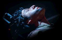 Poe Dameron, being mind-tortured by Kylo Ren