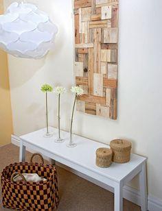 Riciclare scarti di legno