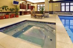 Indoor Pool Design Ideas, Pictures, Remodel, and Decor
