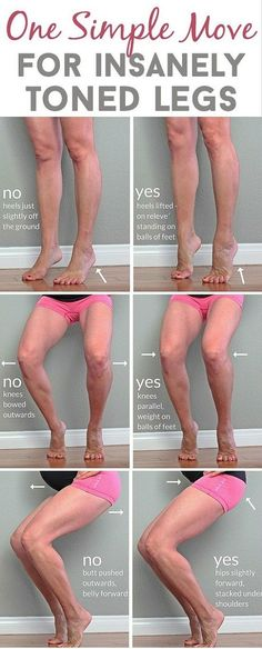 Best One Simple Move for Insanely Toned Legs