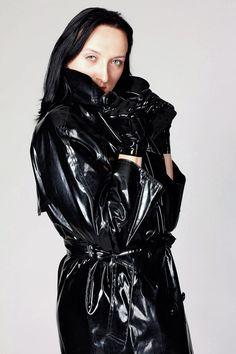 Black Raincoat, Pvc Raincoat, Latex, Black Mac, Raincoats For Women, Unisex, Rain Wear, Macs, What To Wear