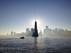 World Trade Center eclipse