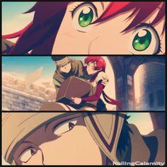 Akagami no Shirayuki-hime - Snow White with the Red Hair - Obi and Shirayuki - Freaking ship them!