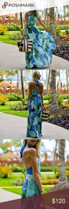 788eb22e60 ELIZA J Tropical print maxi dress Eliza J Maxi dress purchased from  Nordstrom   NEVER WORN