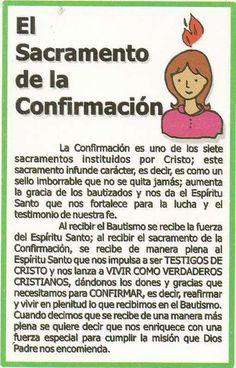 Confirmacion Bible Quotes, Bible Verses, Bible Activities For Kids, Spiritual Prayers, Catholic Religion, Catholic Kids, Educational Crafts, Religious Education, Bible Stories