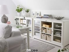 - Furniture and Home Furnishings LIATORP sideboard - Dining room sideboard or living room storage solution? You decide!LIATORP sideboard - Dining room sideboard or living room storage solution? You decide! Ikea Living Room Storage, Home Living Room, Home, Ikea Living Room, Living Room Storage Solutions, Living Room Storage Cabinet, Living Room Diy, Dining Room Sideboard, Living Room Furniture Sofas