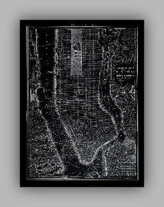 Vintage Early 1900's City Lithographs - New York City