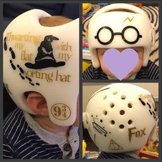 Fixin My Flat Cranial Helmet Decal Set Of Baby Helmet Bling - Baby helmet decalspersonalized cranial band fairy decals just tinkering