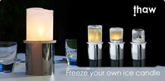 Mathmos Lights and Lamps U.S. - Wireless Lights - Thaw ice candle