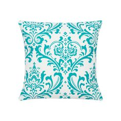 Accent Pillow Pillow Cover Turquoise by ThePreppyOwlBoutique