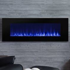dimplex galveston 74 wall mount electric fireplace at menards rh pinterest com