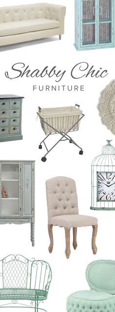 Love the shabby chic look to all these pieces.. mixed with rustic\/wood\/vintage.. ahh!  Shabby Chic Furniture & Décor | Up to 70% Off at dotandbo.com