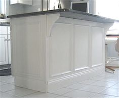 kitchen island molding 1000 images about wainscoting kitchen on 13499