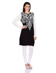 W for Woman Women's Straight Kurta: Amazon.in: Clothing & Accessories