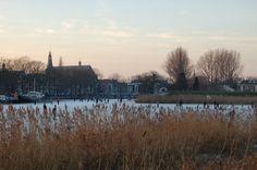 Winter in Weesp Amsterdam, Snow, River, Outdoor, Outdoors, Outdoor Games, Outdoor Life, Human Eye, Rivers