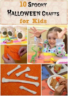 10 Spooky Halloween Crafts for Kids
