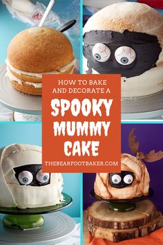 Do you need Halloween treat ideas? This Halloween dessert is perfect for a Halloween party treat. Kids and adults alike will love this Spooky Halloween Mummy Cake! Whether you are going to a Halloween party or just baking for Halloween at home, this Spooky Mummy Cake is the perfect Halloween dessert! #thebearfootbaker #halloween #halloweendesserts #halloweenfood #halloweenpartyfood #halloweenbaking #halloweentreatideas Halloween Party Treats, Halloween Baking, Halloween Desserts, Halloween Cakes, Spooky Halloween, Just Bake, Cake Videos, Chocolate Molds, How To Make Cake