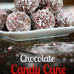 Chocolate Candy Cane Truffles Recipe - ZipList