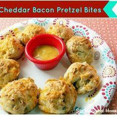 Cheddar Bacon Pretzel Bites