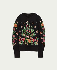 EMBROIDERED MINI SKIRT - THE NEW FLORALS-WOMAN | ZARA United States